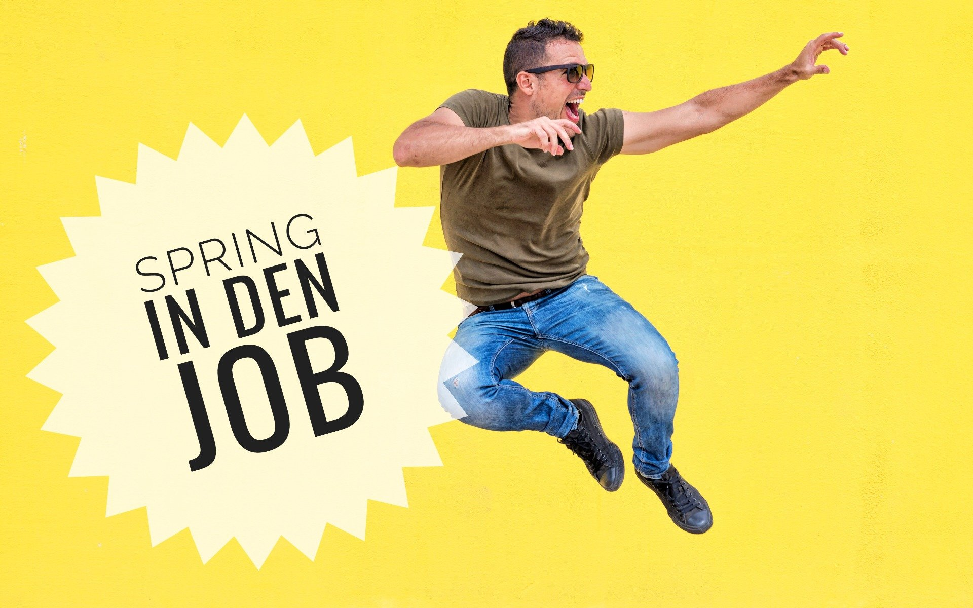Spring in den Job (c) Foto: © raferto – photocase